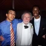 Chris Antalics, Jr., Stephen Antalics (Visiting Scientist, Lehigh University), & Ibrahim at a reception