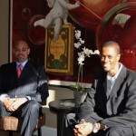 """L-R: Andra Cain & Ibrahim Dabo. Mr. Cain will receive the """"Minority Business Enterprise of the Year"""" Award"""