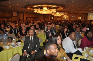 MWMCA's Spring Breakfast was packed with professionals from all walks fo life