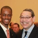 L-R: Ibrahim Dabo & Wayne Frazier, Sr., president of MWMCA
