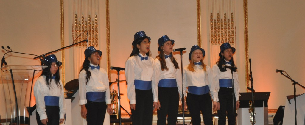 """Lighthouse Music School Students perform at LightYears 2010."""