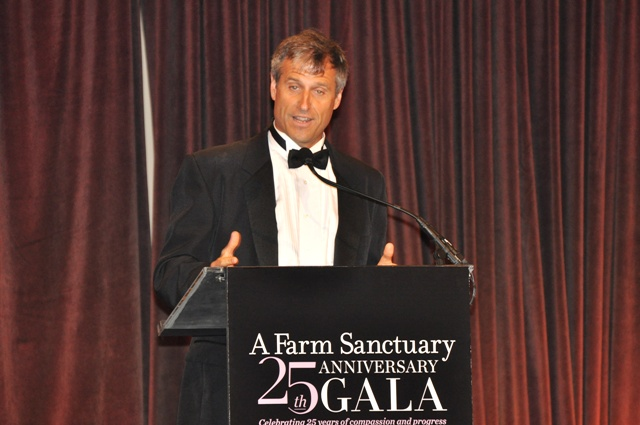 Gene Baur, president and co-founder of Farm Sanctuary