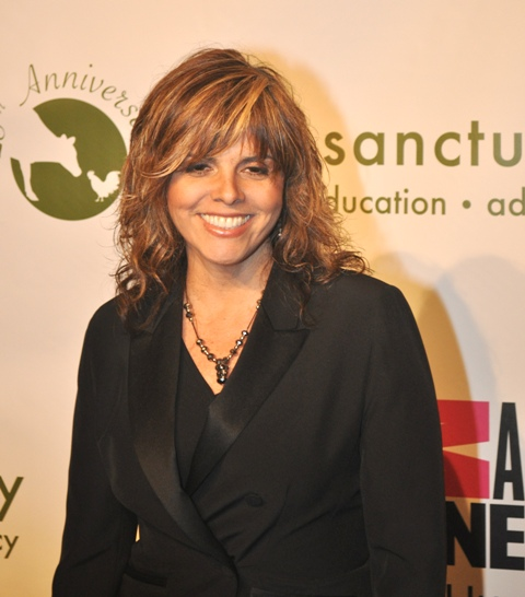 Jane Velez-Mitchell attends Farm Sanctuary's Celebrity Gala