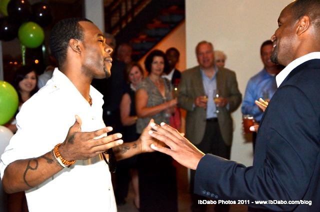 R&B star Mario and Kevin Shird