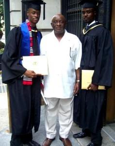 Ibrahim Dabo, Uncle K. Turay, Ishmael Dabo