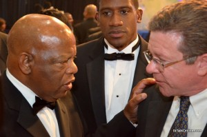 Bill Fleming and  Civil Rights Icon John Lewis