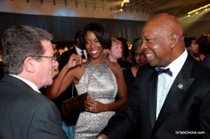 Bill Fleming, Dr. Maya Rockeymoore Cummings and Congressman Elijah Cummings