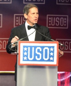 Sloan Gibson, USO's president and CEO