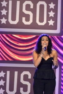 Jordin Sparks entertained guests at the gala