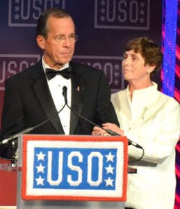 Admiral Michael G. Mullen, U.S. Navy (Ret) and Mrs. Deborah Mullen