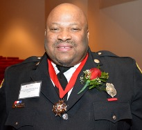 BCFD Lt. Derrick Ready honored